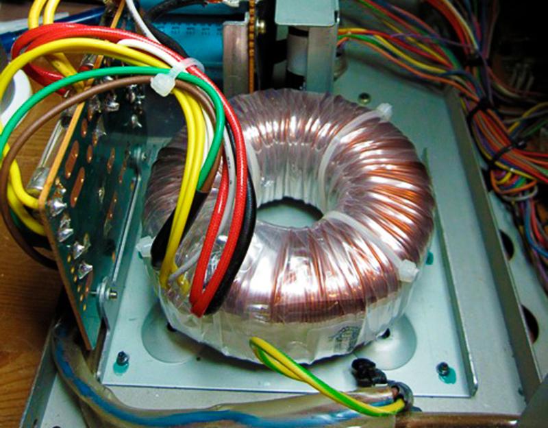 Toroidal transformer replacement